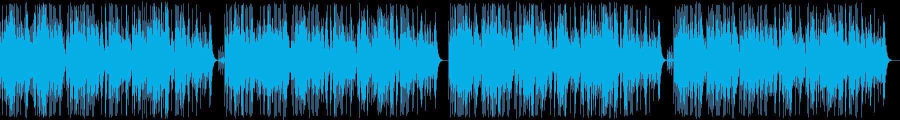 「古時計」オルゴールの再生済みの波形