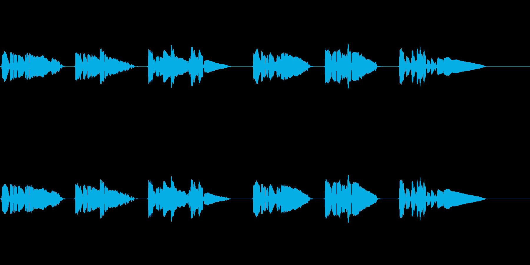 サックス1本で官能的な曲の再生済みの波形