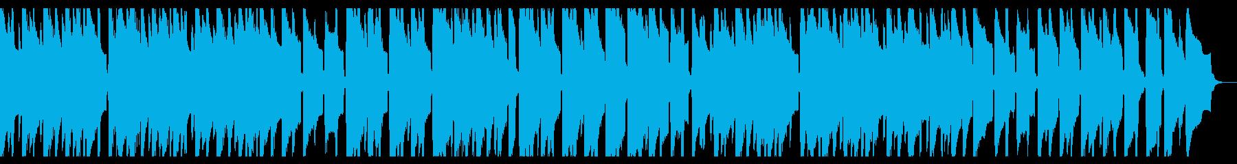 スイングのシンプルで楽しいクリスマス曲の再生済みの波形