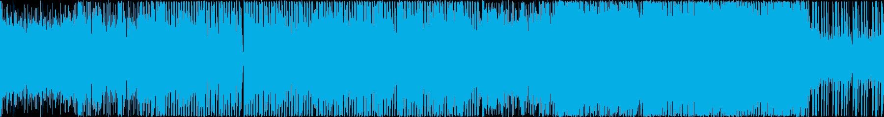 超高速でかわいいテクノポップ ループ推奨の再生済みの波形