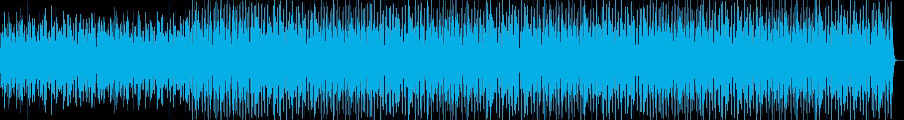長めシンセループBPM117の再生済みの波形