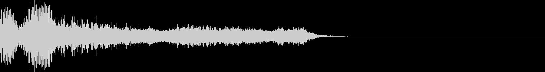 衝撃 ギター インパクト ノイズ 09の未再生の波形