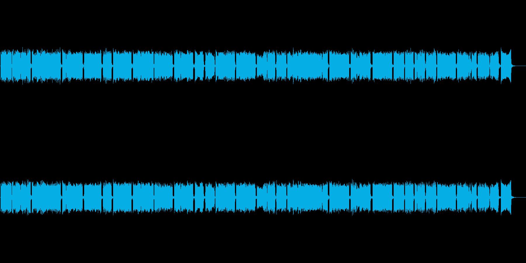 神楽をイメージした篠笛独奏の再生済みの波形