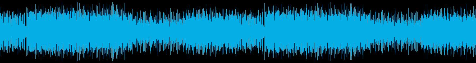 【ループ版】EDM ディスコおしゃれの再生済みの波形