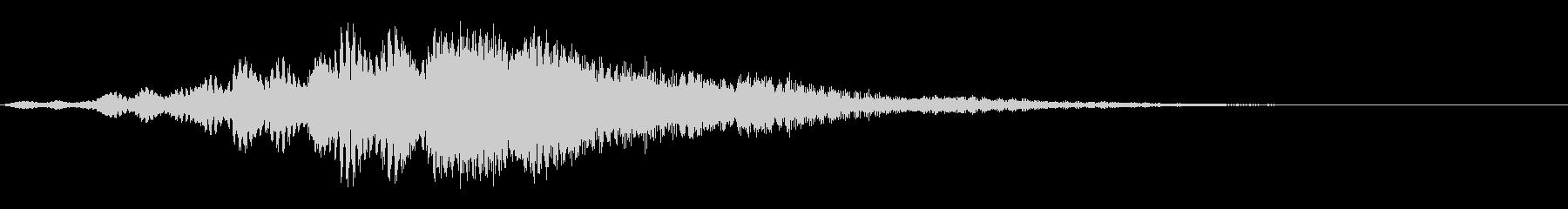 ポドラサー3の未再生の波形