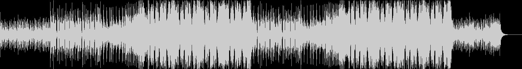 EDM風近代的Future Bassの未再生の波形