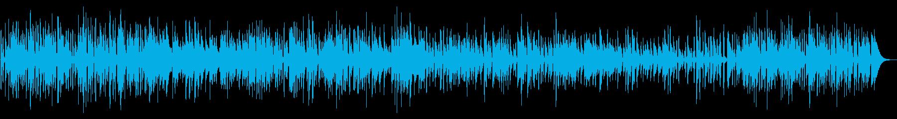 ギターボサノバYouTube犬猫ペット系の再生済みの波形