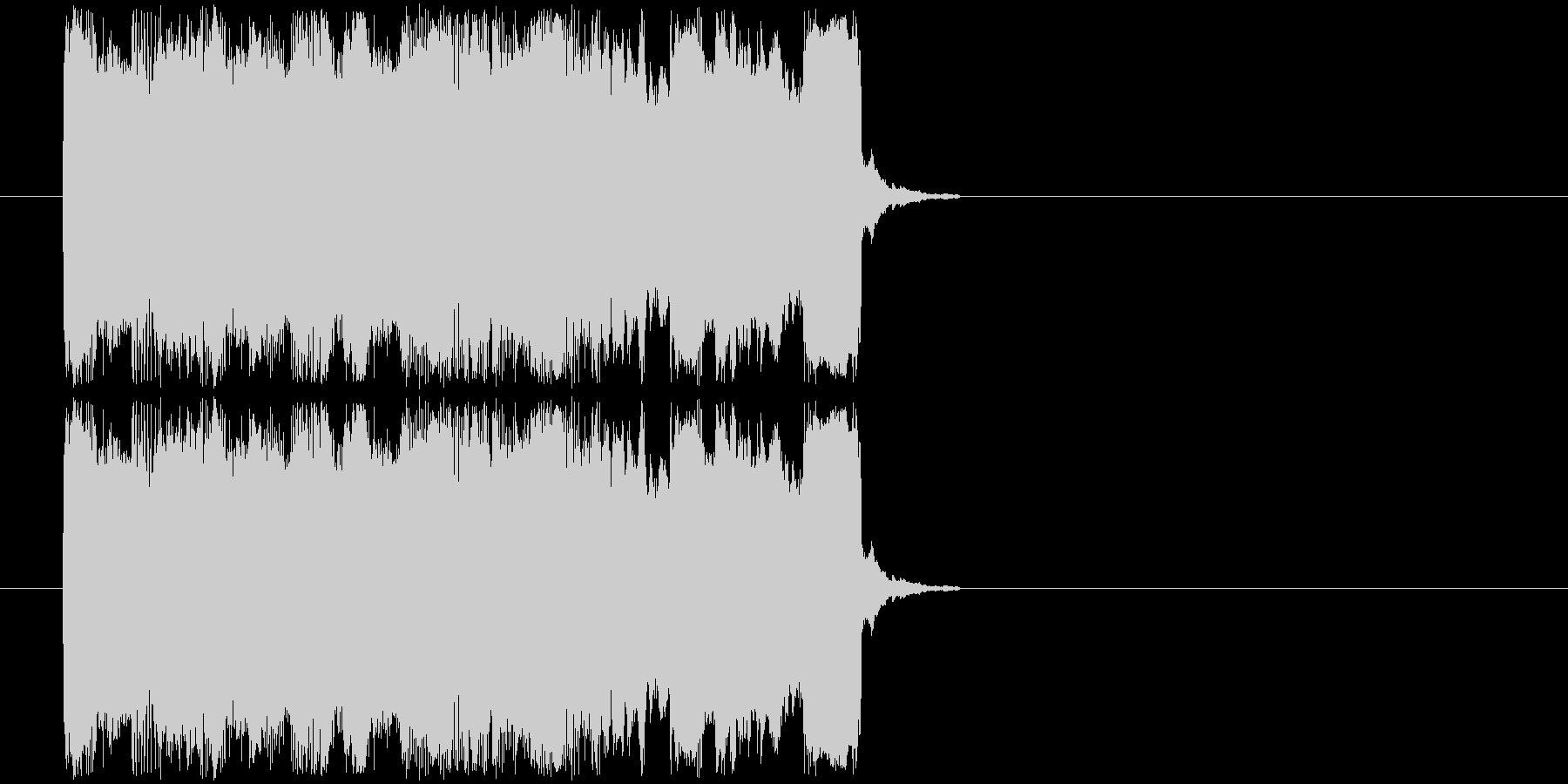 ギターフレーズ015の未再生の波形