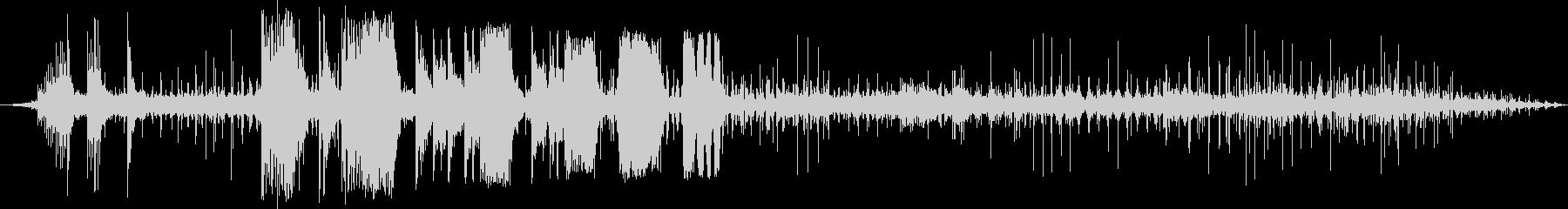 ロイヤルガードホース1-00の未再生の波形