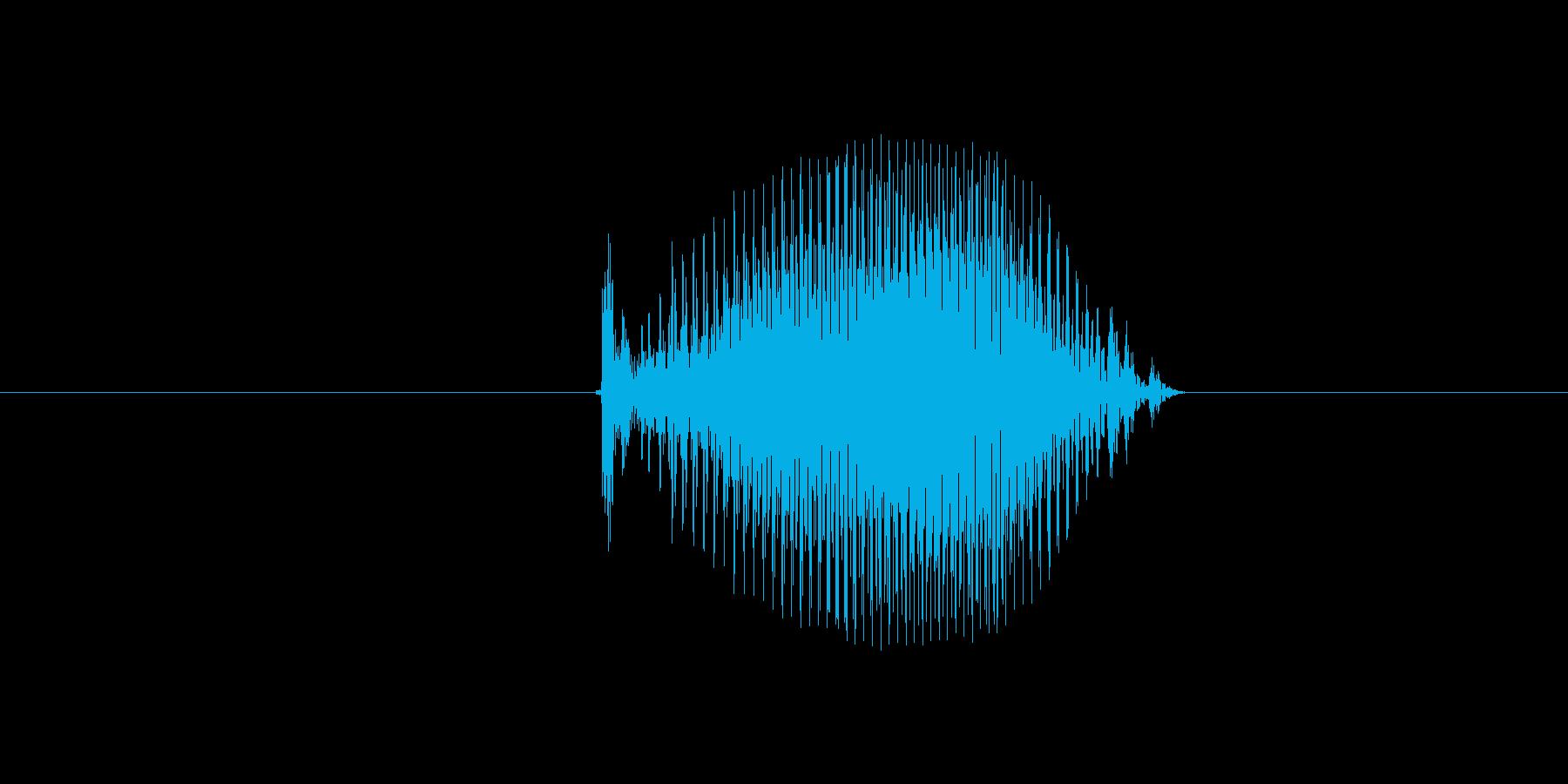 5(数字、女の子)の再生済みの波形