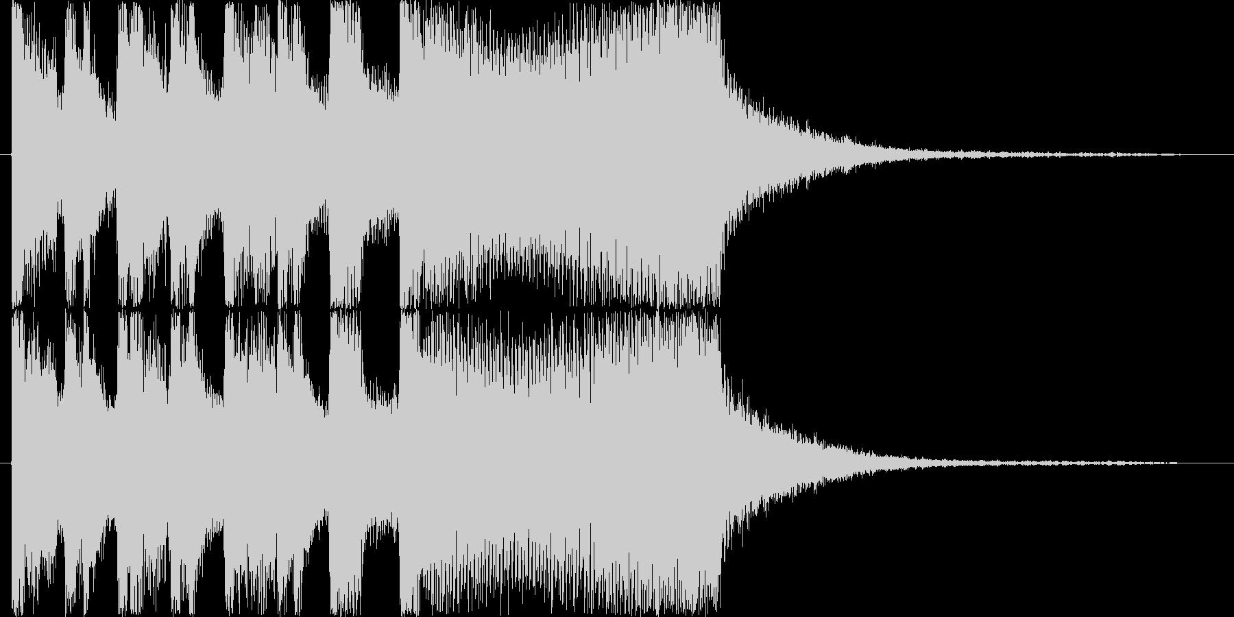 シンセオープニングインパクト_ショートの未再生の波形
