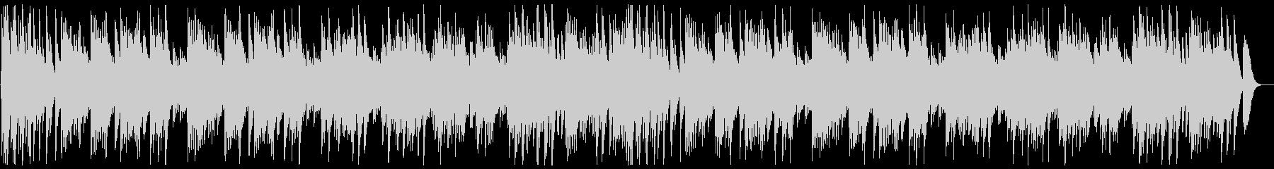 可愛い優しい曲調のハンドベルの曲の未再生の波形
