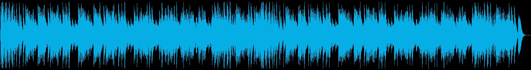 可愛い優しい曲調のハンドベルの曲の再生済みの波形