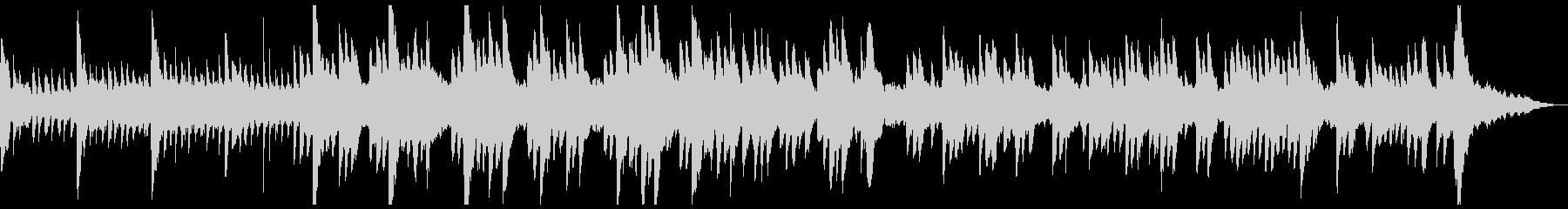 神秘的なファンタジー シンセ ピアノ曲 の未再生の波形