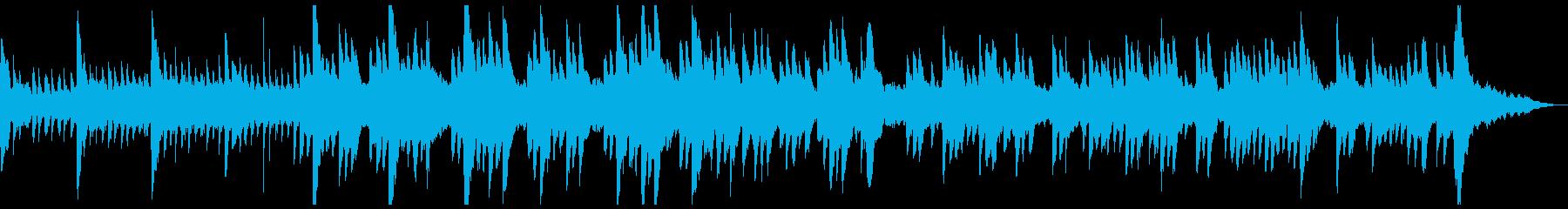 神秘的なファンタジー シンセ ピアノ曲 の再生済みの波形