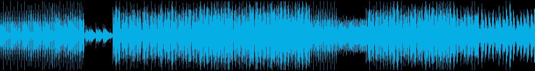 ダフトパンク的なディスコ曲ですの再生済みの波形