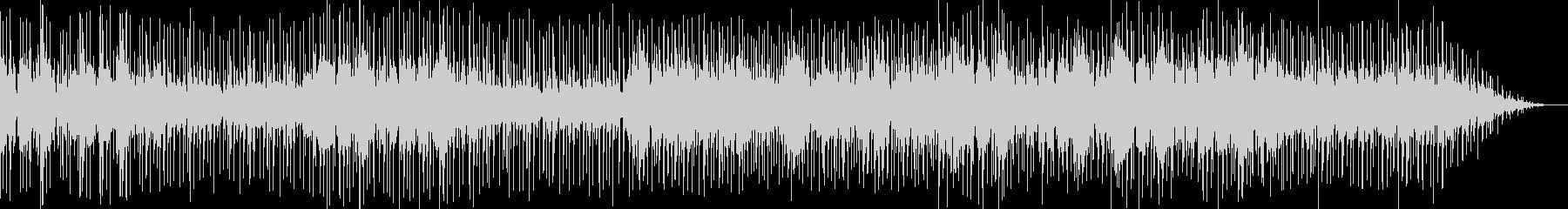 ラテンフレーバーあるスムースジャズの未再生の波形