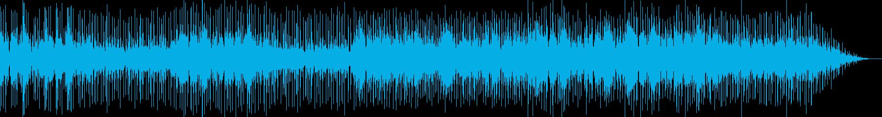 ラテンフレーバーあるスムースジャズの再生済みの波形