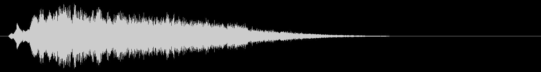 ミステリー(奇妙な現象の時の音)の未再生の波形