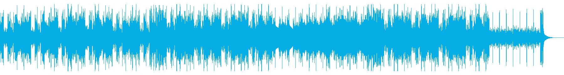 ダークヒップホップ 悲しいピアノの再生済みの波形