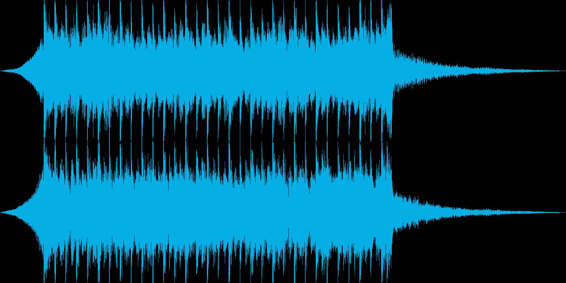 企業VPや映像、華やかオーケストラ15秒の再生済みの波形