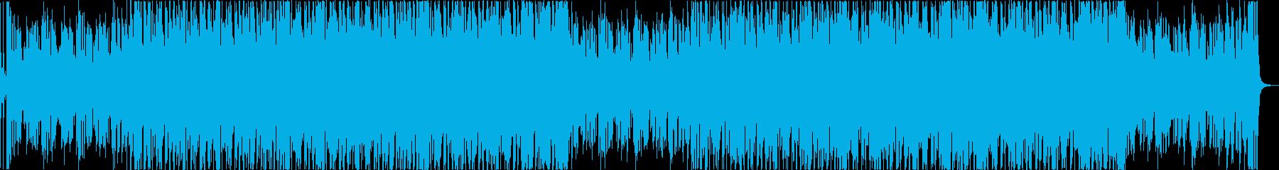 軽快おしゃれレトロディスコシティポップaの再生済みの波形