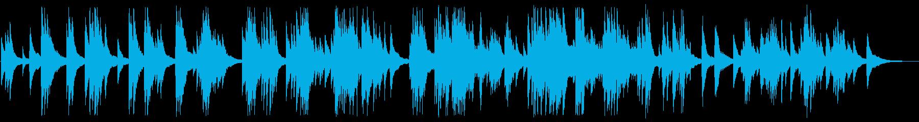 憂いのある大人のジャズピアノBGMの再生済みの波形