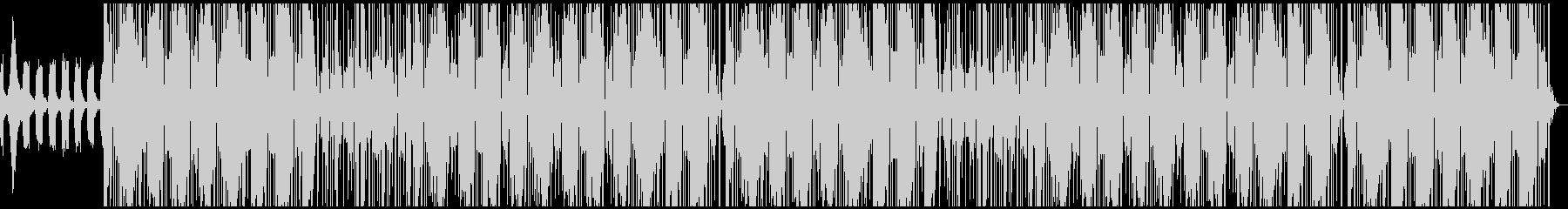 優しい重低音トラップビートの未再生の波形