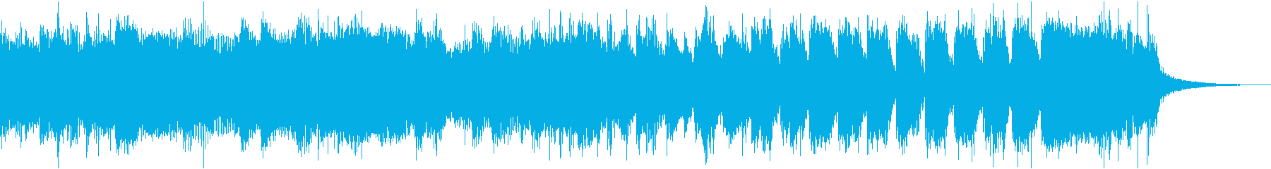 コマーシャルゴージャス派手ブラスロックeの再生済みの波形