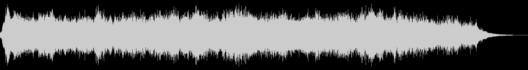 宇宙船の通信室の効果音の未再生の波形