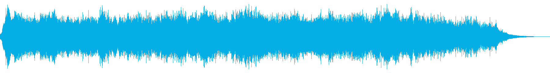 宇宙船の通信室の効果音の再生済みの波形