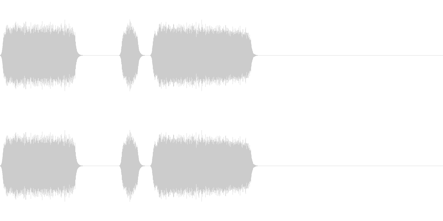 修理や製造のシーンにの未再生の波形