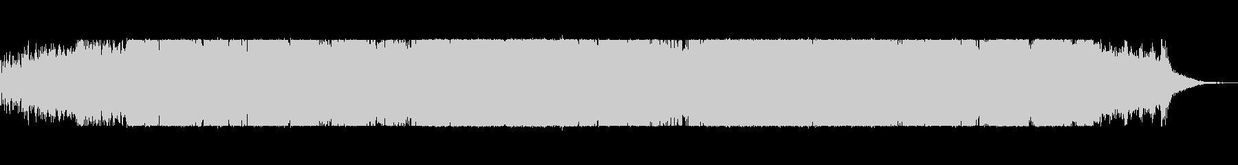 不気味でシネマティックなIDMの未再生の波形