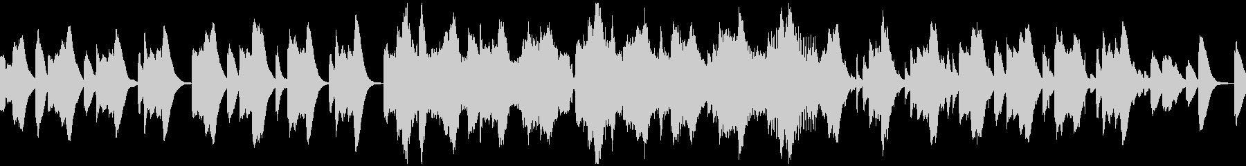 鉄琴ベースの懐かしい雰囲気ループBGMの未再生の波形