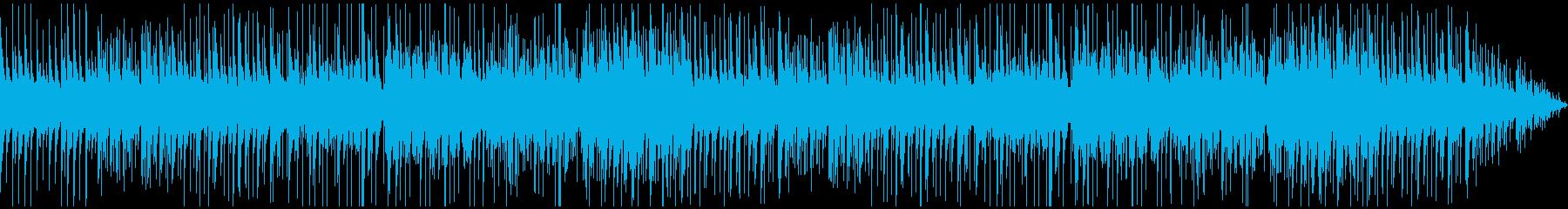 心落ち着く優しいピアノバラードの再生済みの波形