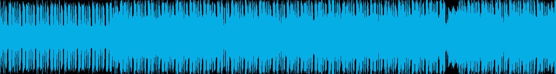 日常的なファミコンポップ【ループ素材】の再生済みの波形
