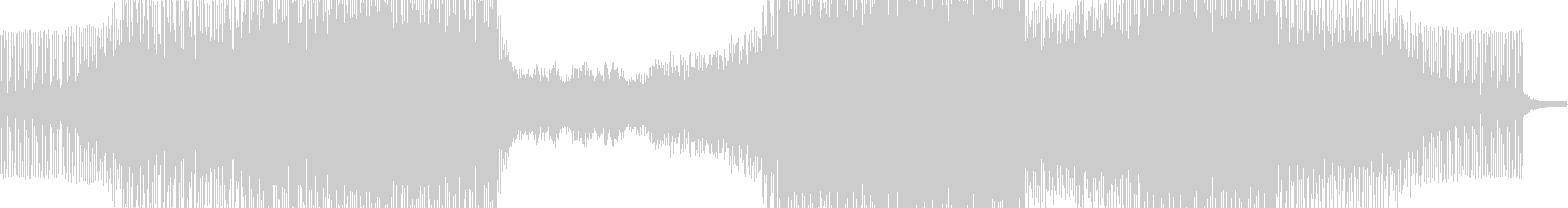 プログレッシブトランスの未再生の波形