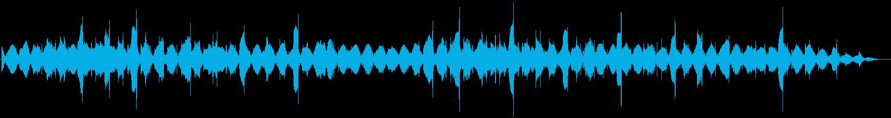 シーケンス バスベル01の再生済みの波形