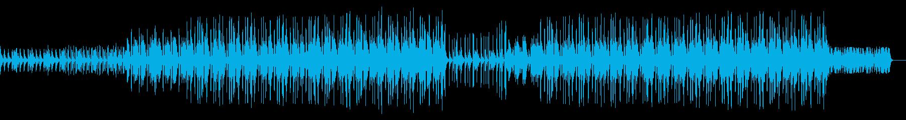 レトロ ダーク 哀愁 トラップビートの再生済みの波形