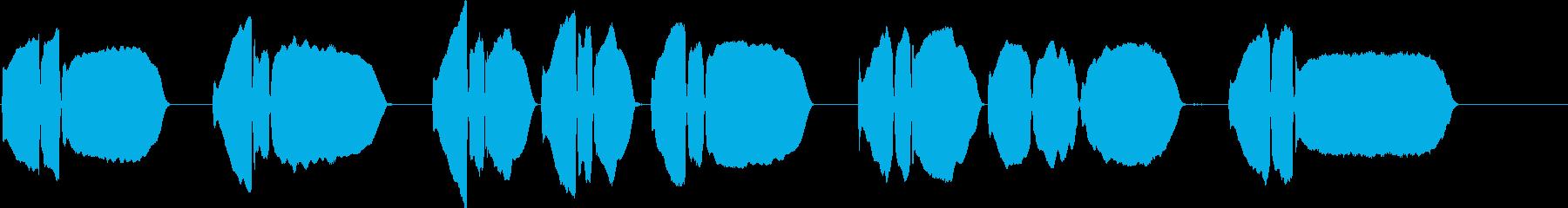 Bugle PlaysΓÇÿtap...の再生済みの波形
