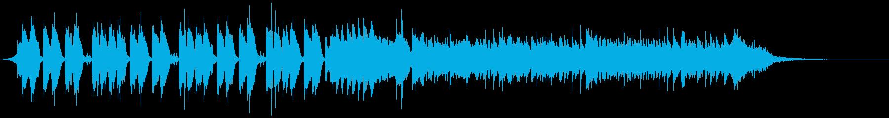 爽やかなサーフ系ギターロック・ポップスcの再生済みの波形