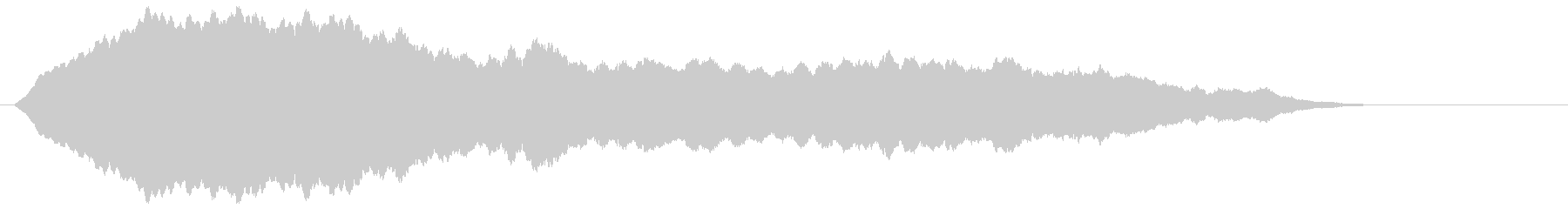 高周波のベッドベルドローンの未再生の波形