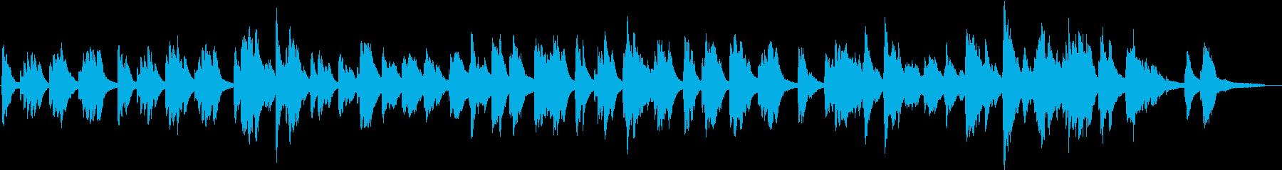 秋の気配を感じる切ないソロピアノの再生済みの波形