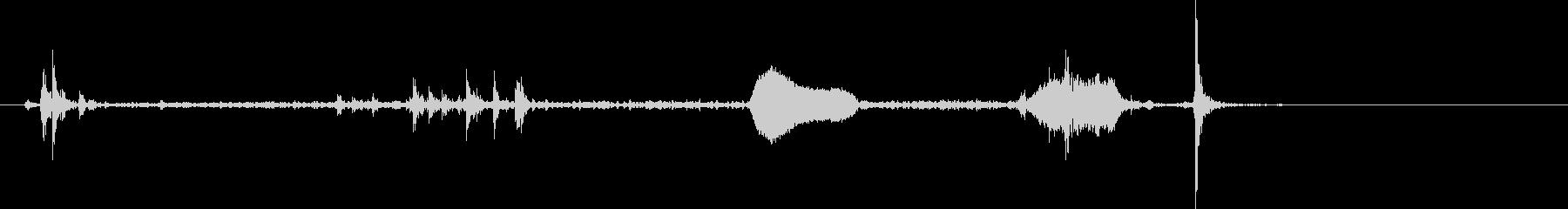 鳩時計1:ストライクワンオクロック...の未再生の波形