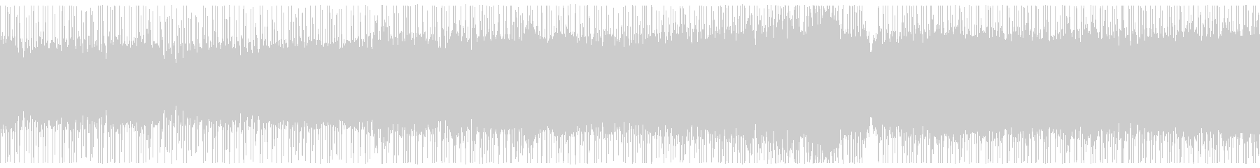 エレキ生アンプ、爽やか西海岸ロックの未再生の波形