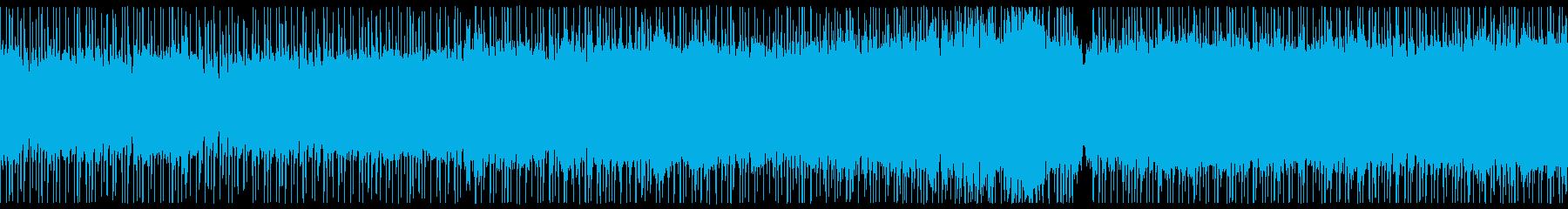 エレキ生アンプ、爽やか西海岸ロックの再生済みの波形