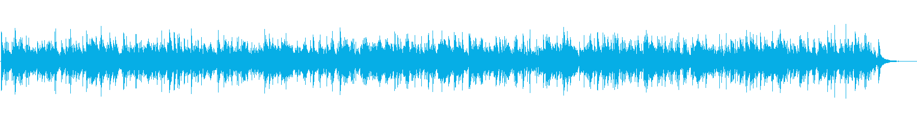 ほのぼのフォークカントリーギターデュオの再生済みの波形