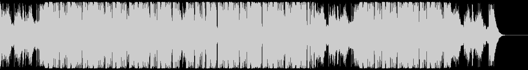 キラキラと爽快なエレクトロCM・企業VPの未再生の波形