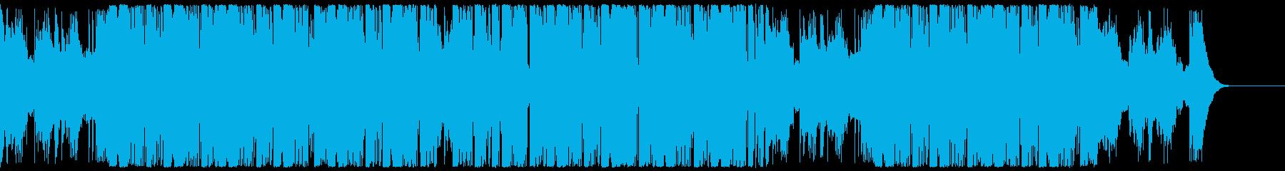 キラキラと爽快なエレクトロCM・企業VPの再生済みの波形