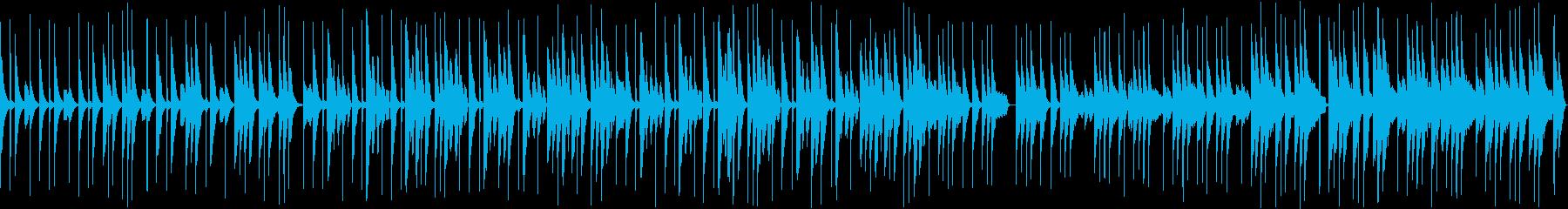 そのままループ可能な日常系雑談BGM2の再生済みの波形